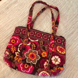Vera Bradley Symphony in Hue tote handbag purse